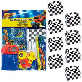 Blaze and the Monster Machines Filled Favor Box Kit (For 8 Guests)