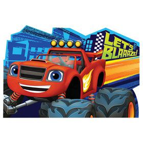 Blaze and the Monster Machines Invitations (8 Pack)