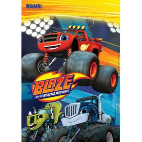 Blaze and the Monster Machines Loot Bags (8 Pack)