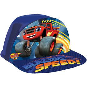 Blaze and the Monster Machines Plastic Hat (1)