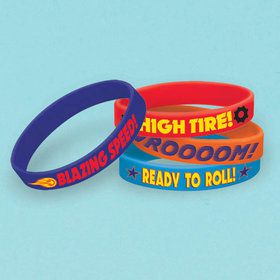Blaze and the Monster Machines Rubber Bracelet Favors (4 Pack)