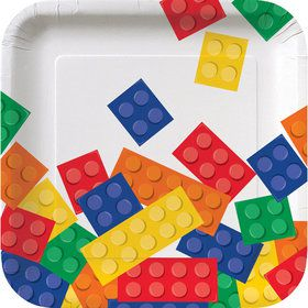 "Block Party 7"" Cake Plate (8 Count)"