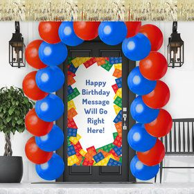 Block Party Doorway Decoration Kit