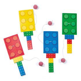 Block Party Paddleball Games (12 Pack)