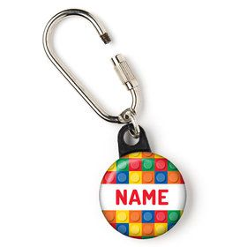 "Block Party Personalized 1"" Carabiner (Each)"