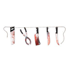 Bloody Knives String Banner (1)