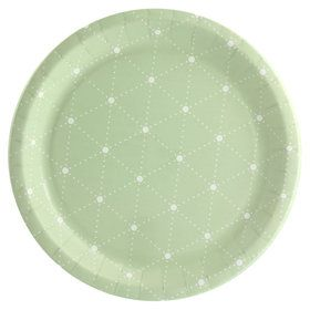 Blooming Elegance Dot Dinner Plate (8)