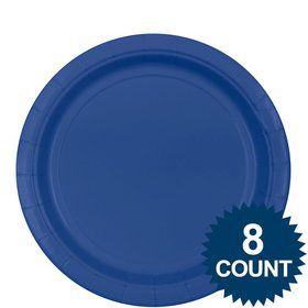 Blue Lunch Plates (8)