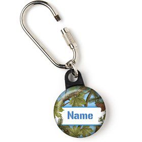 "Blue Camo Personalized 1"" Carabiner (Each)"