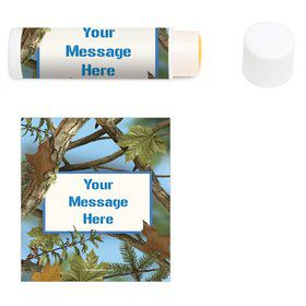 Blue Camo Personalized Lip Balm (12 Pack)