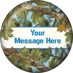 Blue Camo Personalized Magnet (Each)