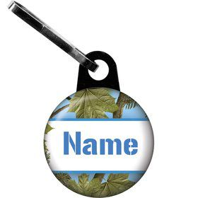 Blue Camo Personalized Zipper Pull (Each)