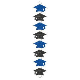 Blue Grad 9ft. Ring Garland Decoration (Each)