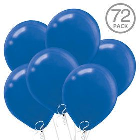 Blue Latex Balloons (72 Count)