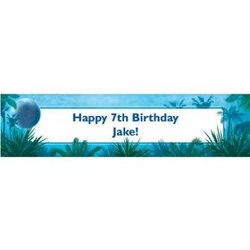Blue Planet Personalized Banner (each)
