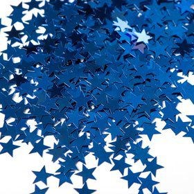 Blue Stars Foil Confetti .5oz (Each)