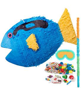 Blue Tang Fish Pinata Kit