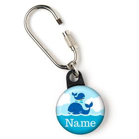 "Blue Whale Personalized 1"" Carabiner (Each)"