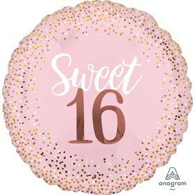Blush 16th 28 Jumbo Foil Balloon