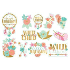 Boho Birthday Girl Cut-Outs (12)