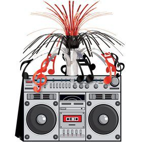 Boom Box Centerpiece (Each)