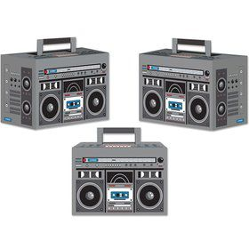 Boom Box Favor Boxes (3 Pack)