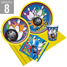 Bowling Party Pack For 8