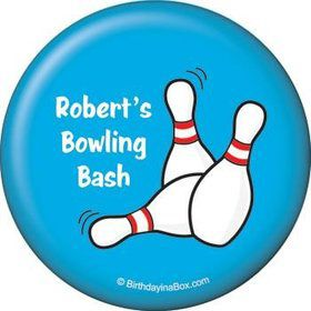 Bowling Personalized Magnet (each)