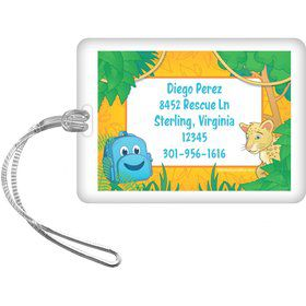 Boy Explorer Personalized Luggage Tag (each)