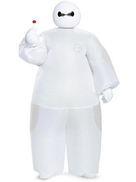 Boys Big Hero 6 White Baymax Inflatable