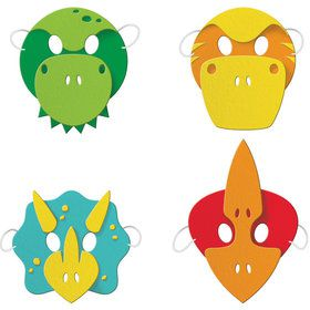 Boys Dino-Roar Foam Mask Favors