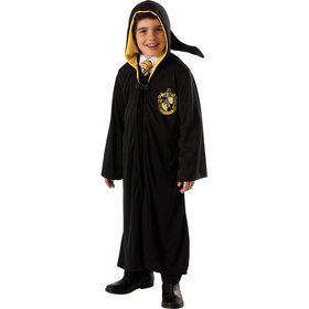 Boys Harry Potter Hufflepuff Robe Costume
