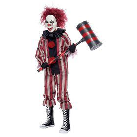 Boys Nightmare Clown Costume