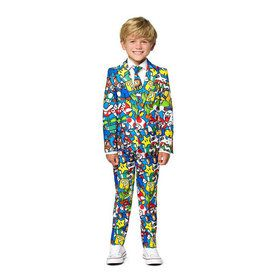Boys Super Mario Licensed Suit