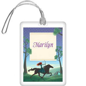 Brave Princess Personalized Bag Tag (each)