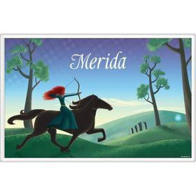 Brave Princess Personalized Placemat (each)