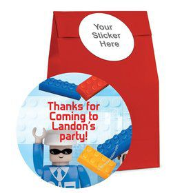 Bric Tek Personalized Favor Bag (12 Pack)