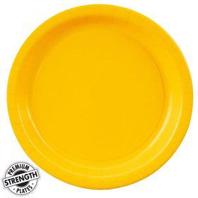 Dinner Plate - Yellow (24)