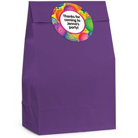 Brilliant Balloons Personalized Favor Bag (Set Of 12)