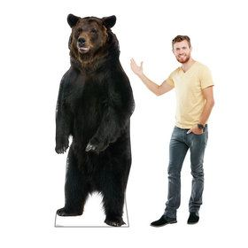 Brown Bear Cardboard Standup