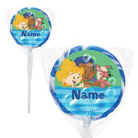 "Bubble Friends Personalized 2"" Lollipops (20 Pack)"