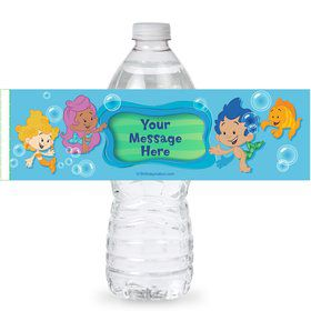 Bubble Friends Personalized Bottle Labels (Sheet of 4)
