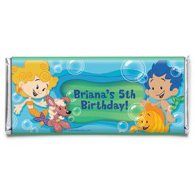 Bubble Friends Personalized Candy Bar Wrapper (Each)