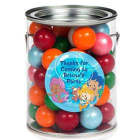 Bubble Friends Personalized Paint Can Favor Container (6 Pack)