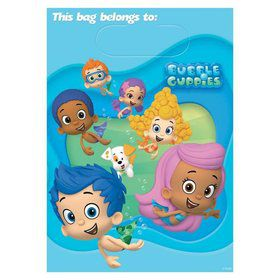 Bubble Guppies Loot Bags (8 Pack)