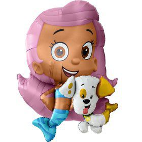 Bubble Guppies Molly Airwalker Foil Balloon