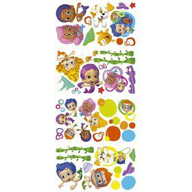 Bubble Guppies Wall Decal Decorations (Each)  sc 1 st  Birthday Express & Girls Birthday u003e Bubble Guppies u003e Decorations