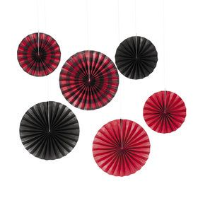Buffalo Plaid Hanging Fan (6)