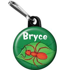 Bugs Personalized Mini Zipper Pull (each)
