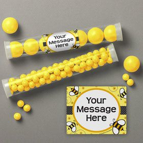 Bumble Bee Personalized Candy Tubes (12 Count)